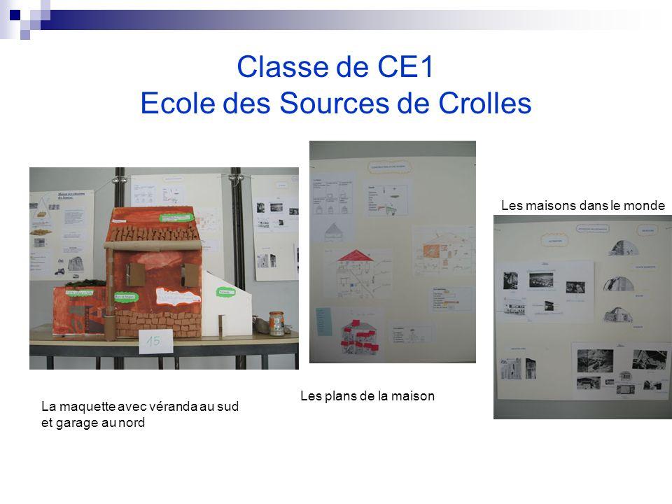 Classe de CE1 Ecole des Sources de Crolles