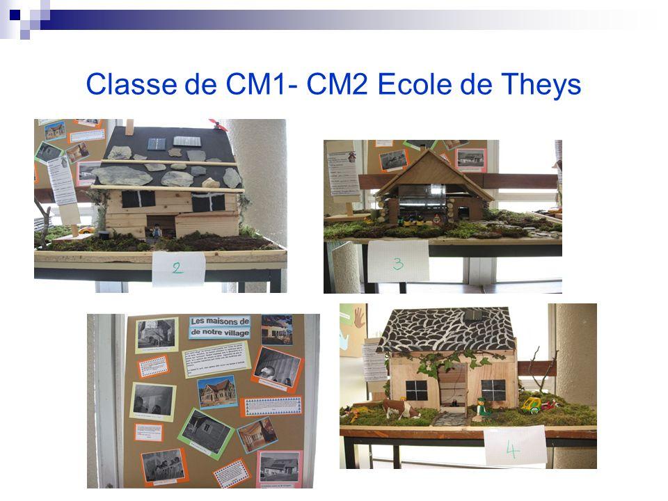 Classe de CM1- CM2 Ecole de Theys