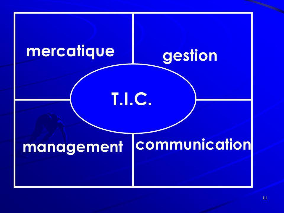 mercatique gestion T.I.C. communication management