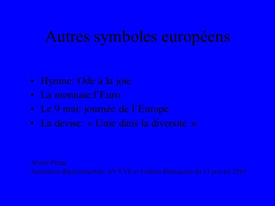Autres symboles européens