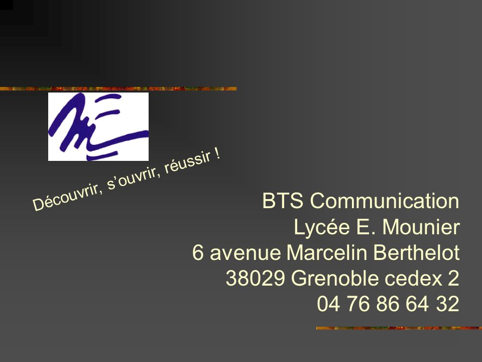 6 avenue Marcelin Berthelot 38029 Grenoble cedex 2 04 76 86 64 32