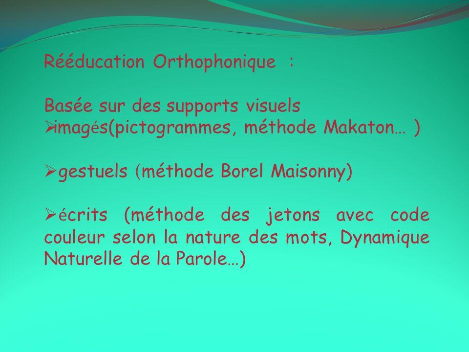Rééducation Orthophonique :