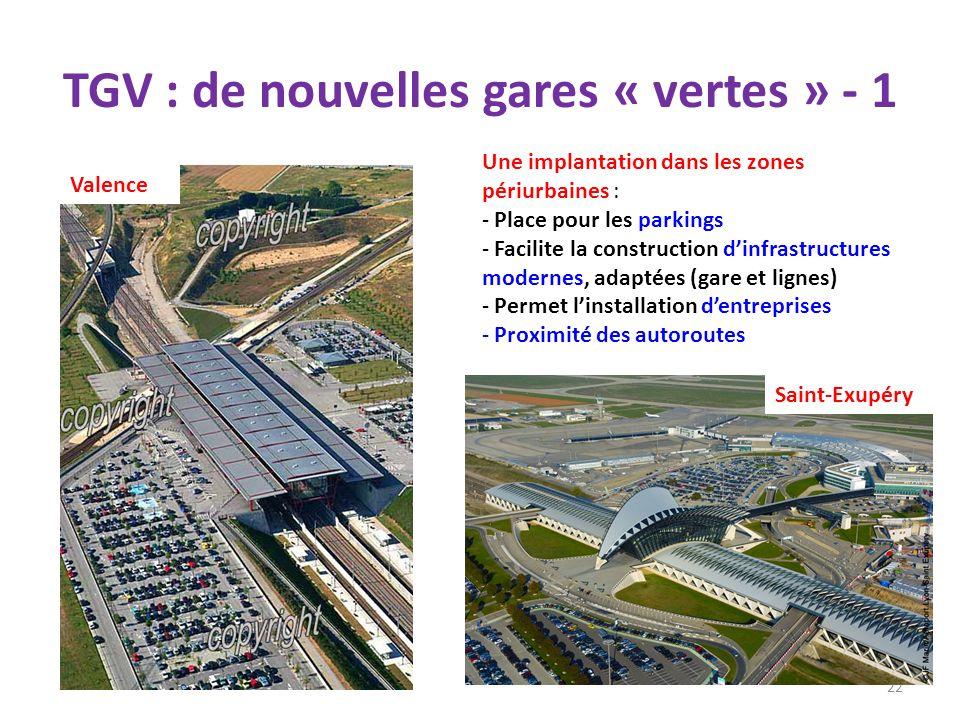 TGV : de nouvelles gares « vertes » - 1