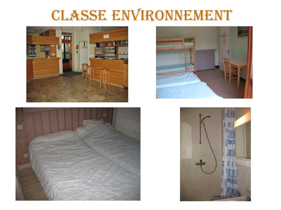 CLASSE ENVIRONNEMENT