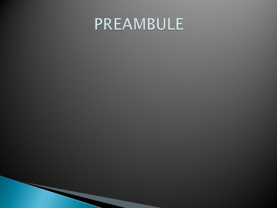 PREAMBULE