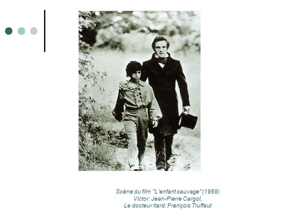 Scène du film L enfant sauvage (1969) Victor: Jean-Pierre Cargol,