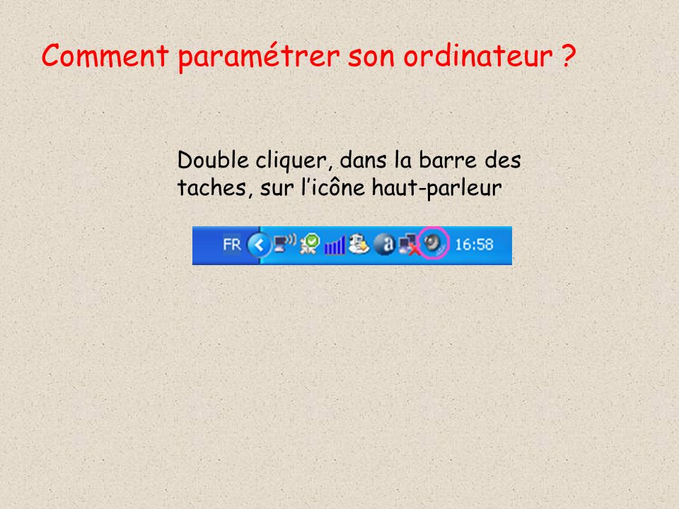 Comment paramétrer son ordinateur