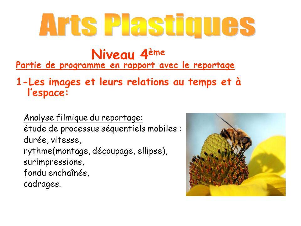 Arts Plastiques Niveau 4ème