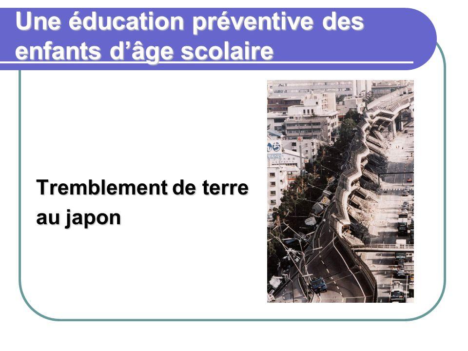 Une éducation préventive des enfants d'âge scolaire
