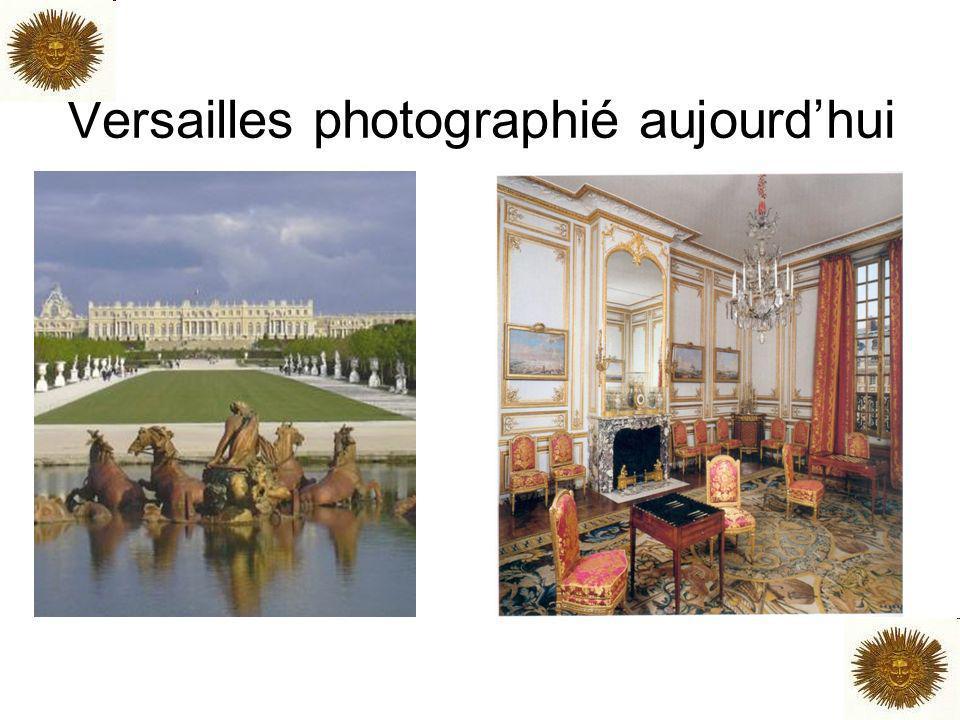 Versailles photographié aujourd'hui