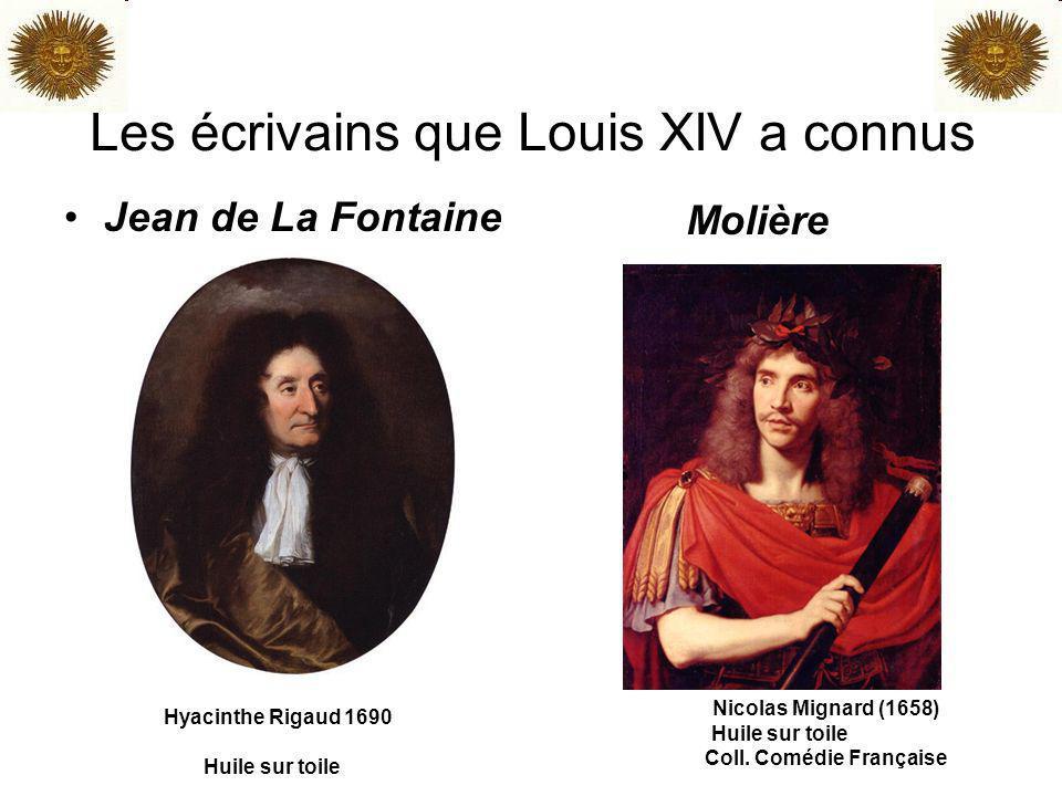 Les écrivains que Louis XIV a connus