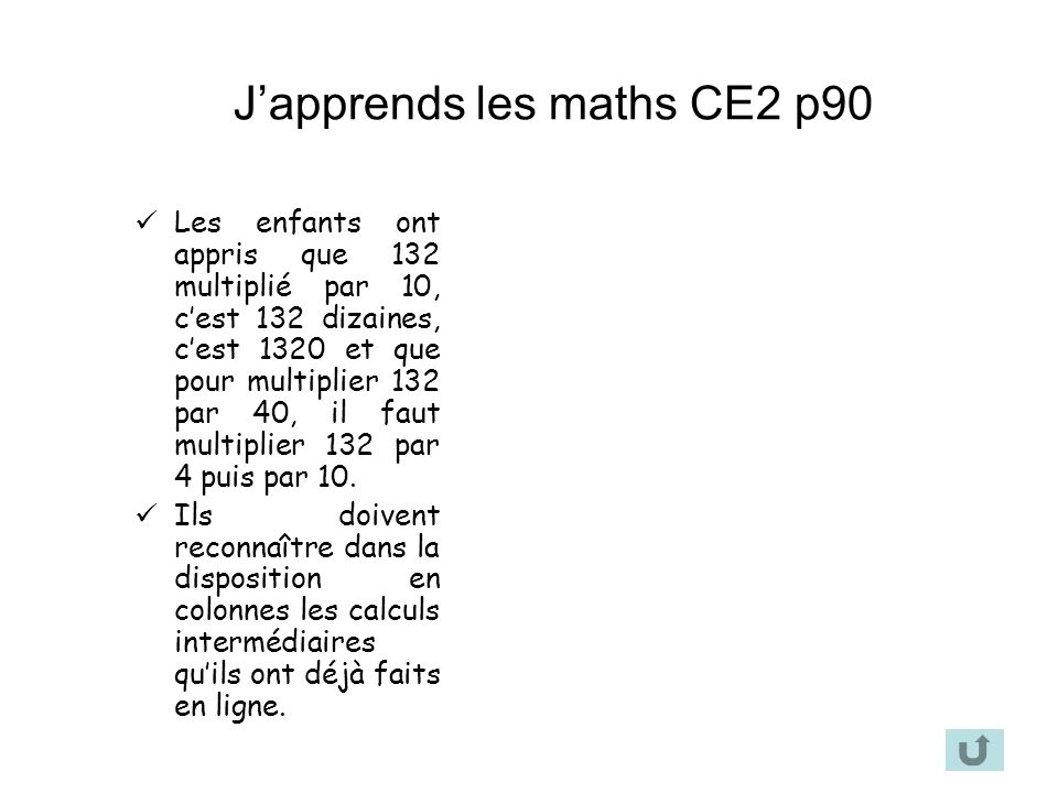 J'apprends les maths CE2 p90