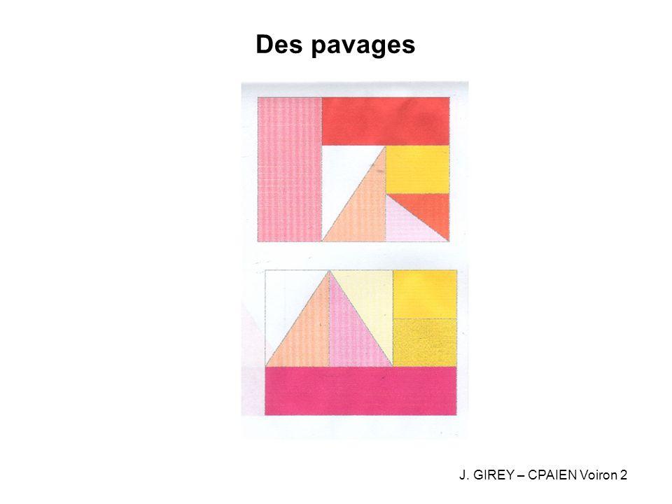 Des pavages J. GIREY – CPAIEN Voiron 2