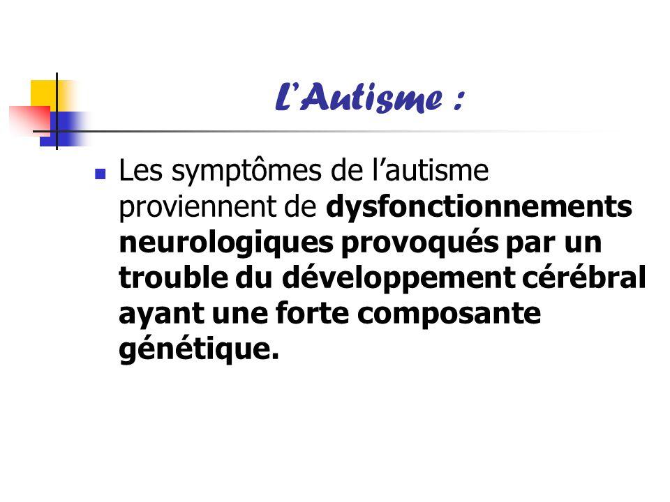 L'Autisme :