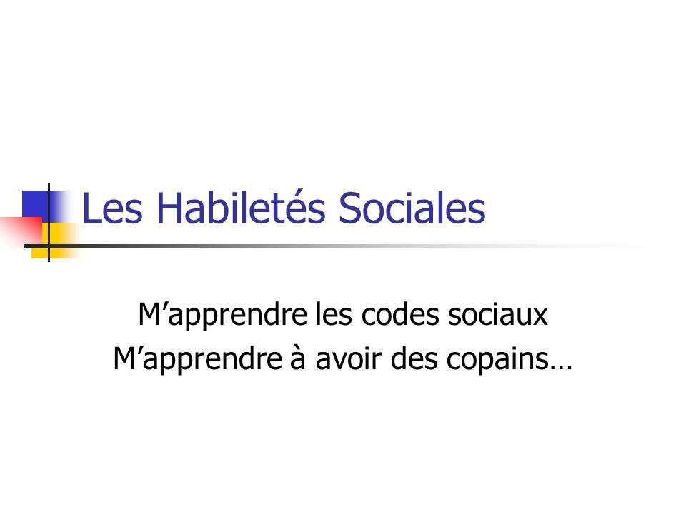 Les Habiletés Sociales