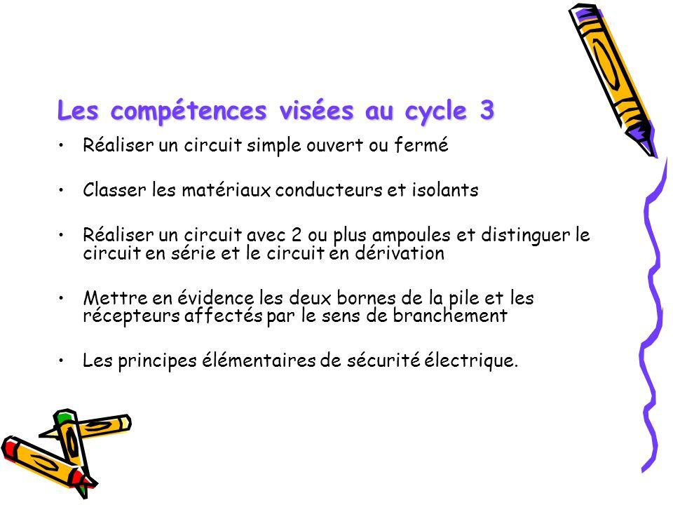 Les compétences visées au cycle 3