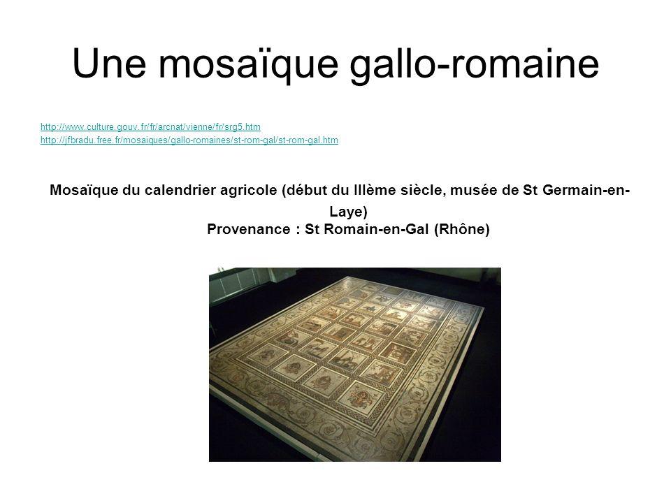 Une mosaïque gallo-romaine