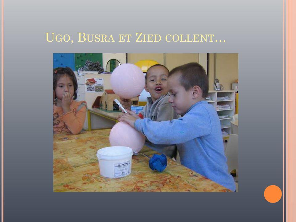 Ugo, Busra et Zied collent…