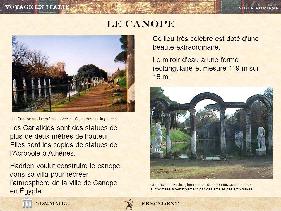 Le CANOPE Ce lieu très célèbre est doté d'une beauté extraordinaire.