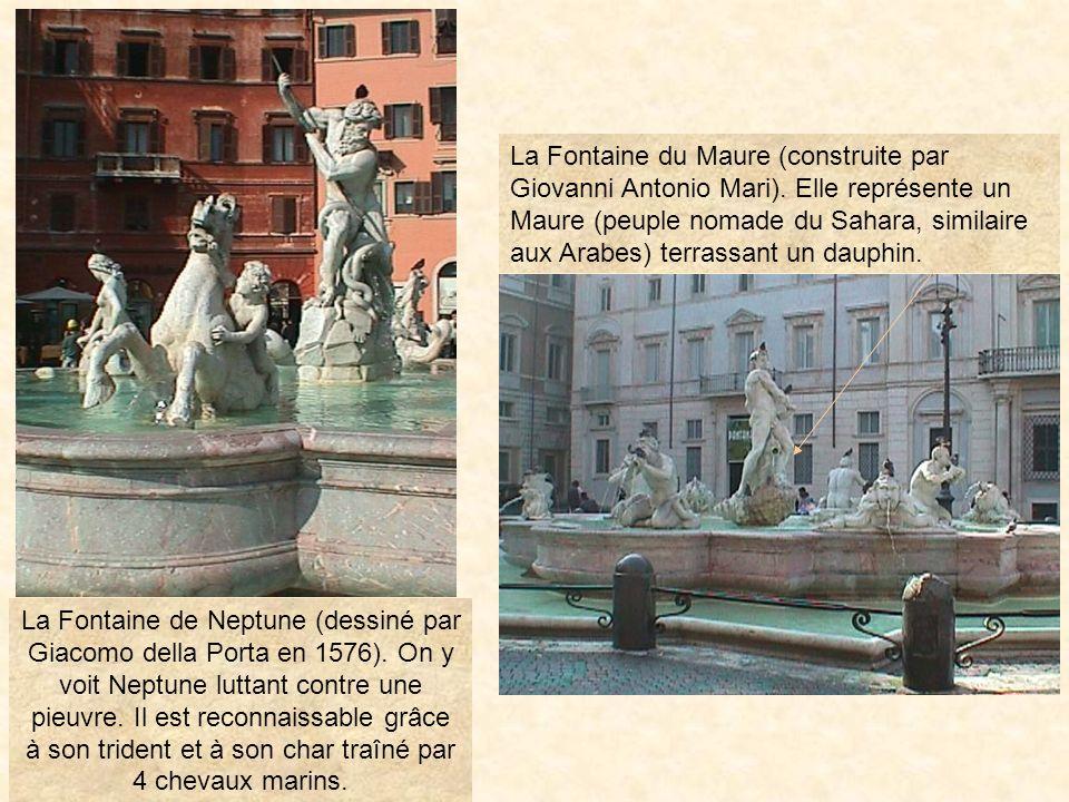 La Fontaine du Maure (construite par Giovanni Antonio Mari)