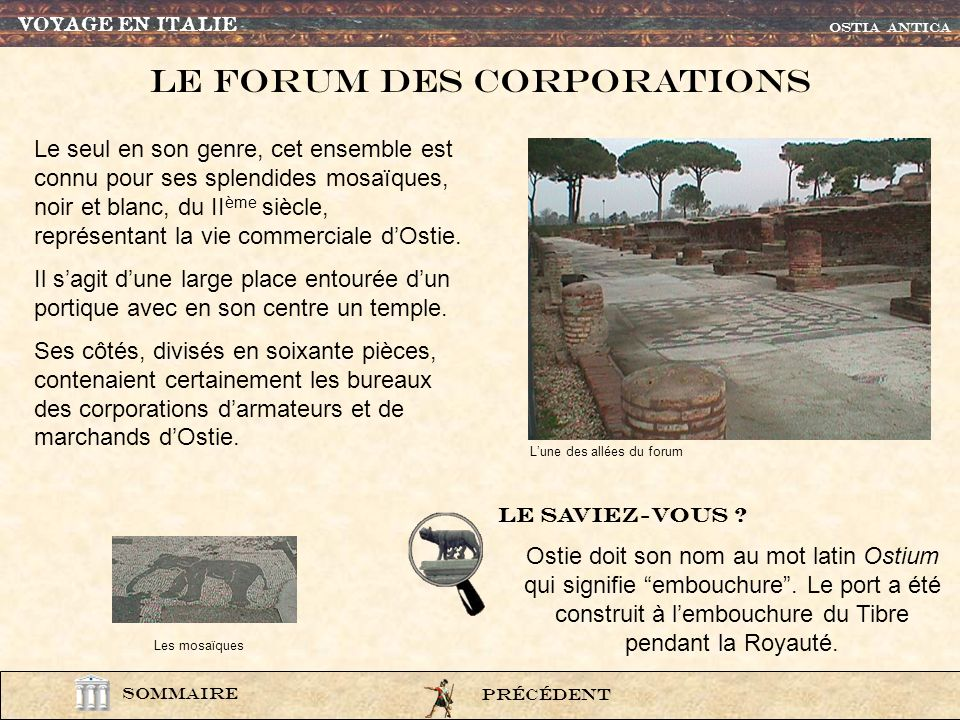 Le Forum des corporations