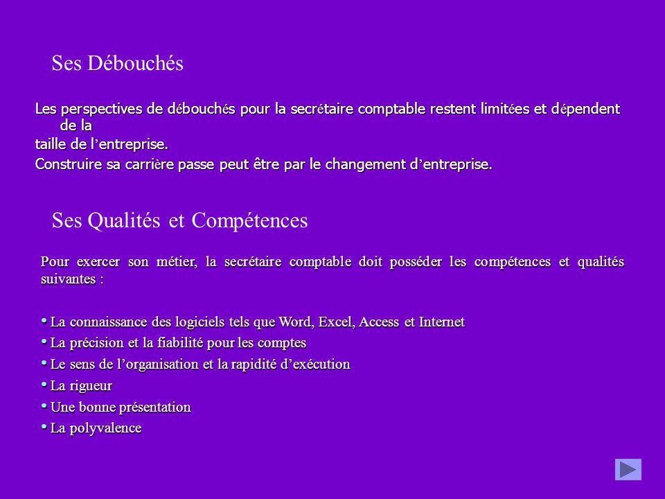Ses Qualités et Compétences