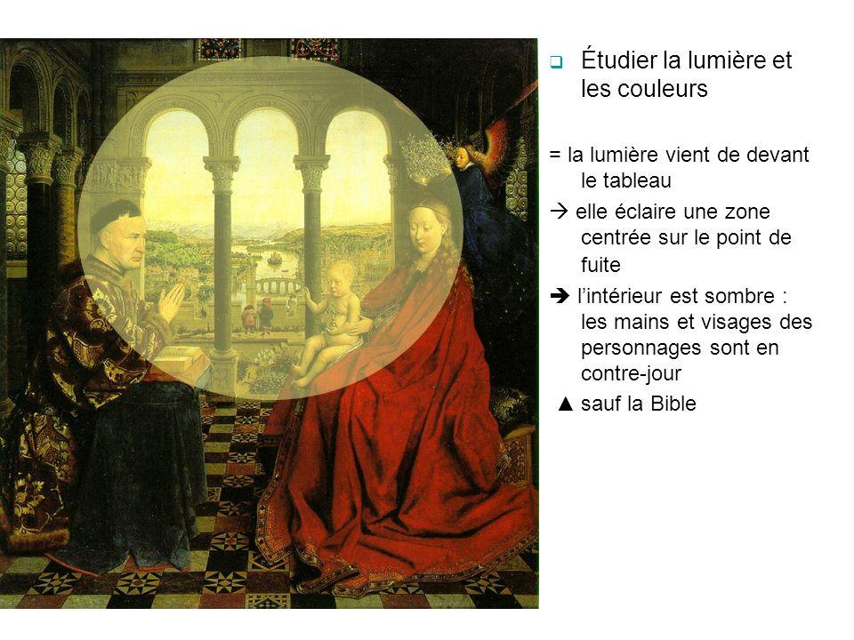 Étudier la lumière et les couleurs