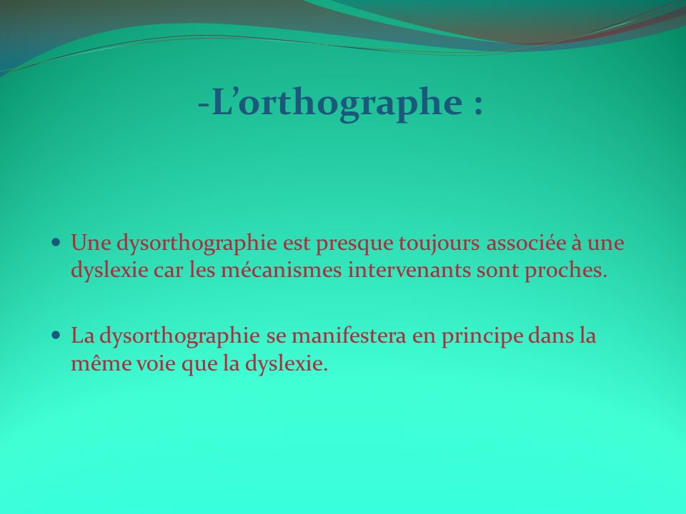 La dyslexie 1 d finition prevalence et causes ppt for Portent definition
