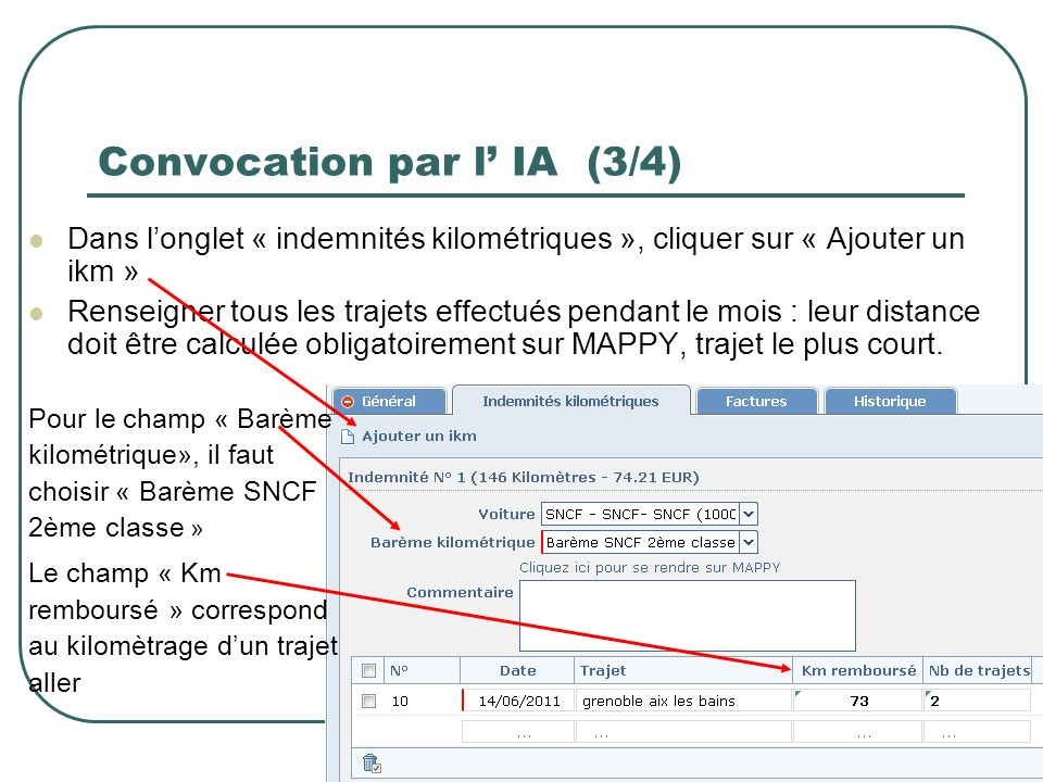 Convocation par l' IA (3/4)