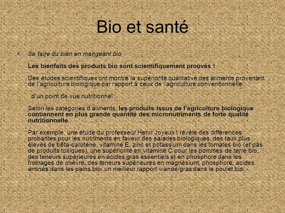 Bio et santé