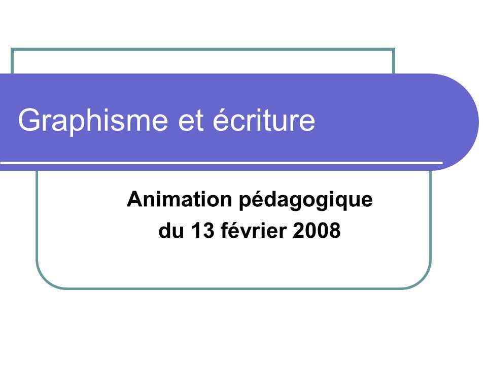 Animation pédagogique du 13 février 2008