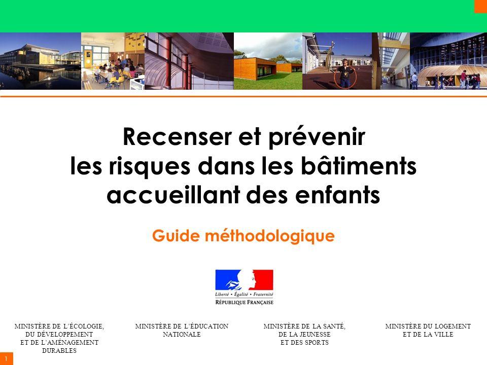 Recenser et prévenir les risques dans les bâtiments accueillant des enfants
