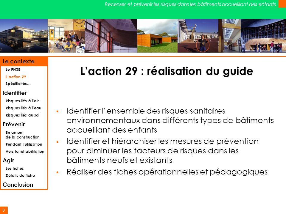 L'action 29 : réalisation du guide