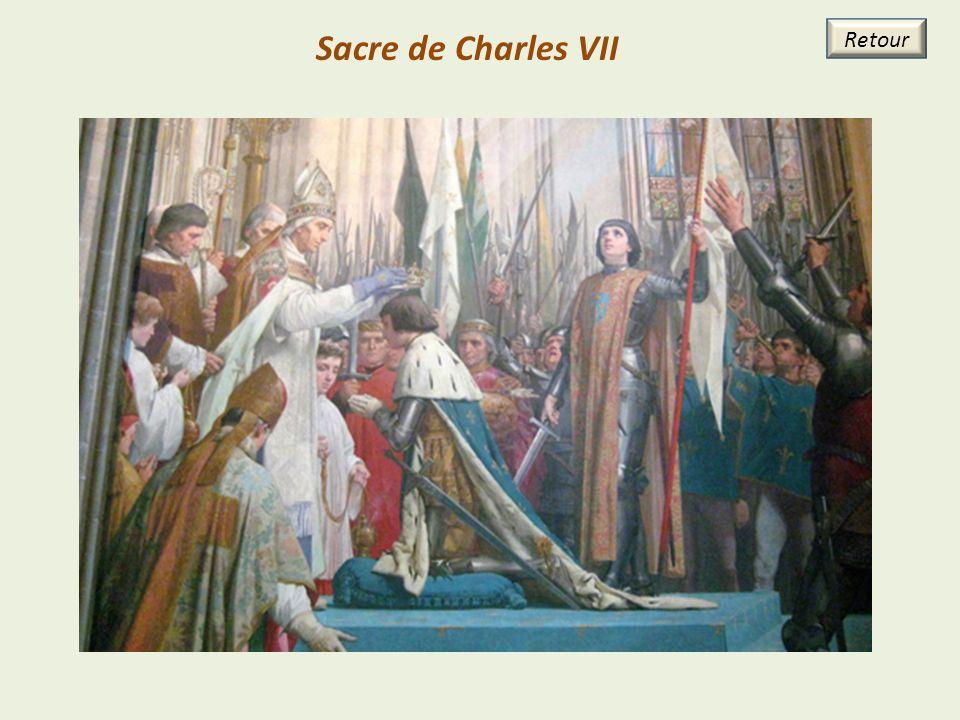 Sacre de Charles VII Retour 29