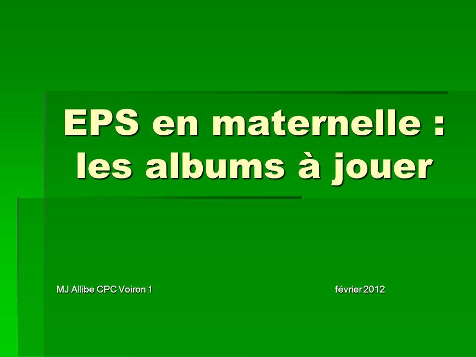 EPS en maternelle : les albums à jouer