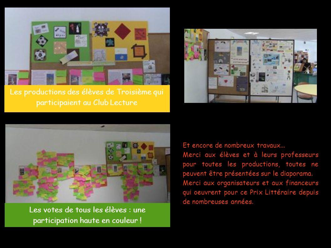 Les votes de tous les élèves : une participation haute en couleur !