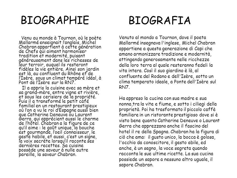 BIOGRAPHIE BIOGRAFIA.