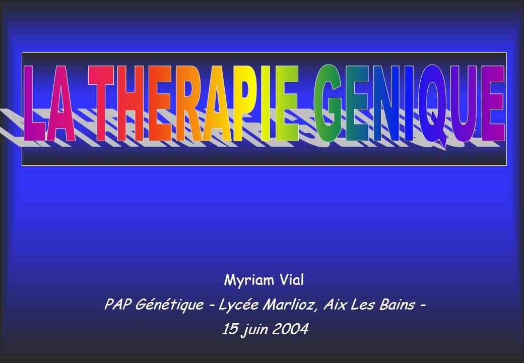 PAP Génétique - Lycée Marlioz, Aix Les Bains -