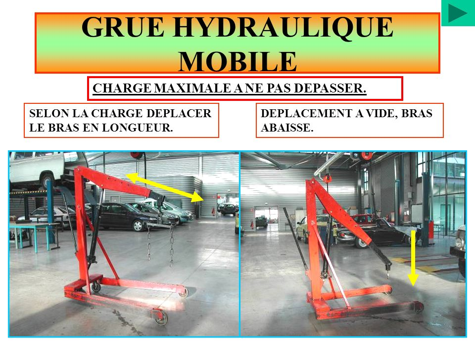GRUE HYDRAULIQUE MOBILE