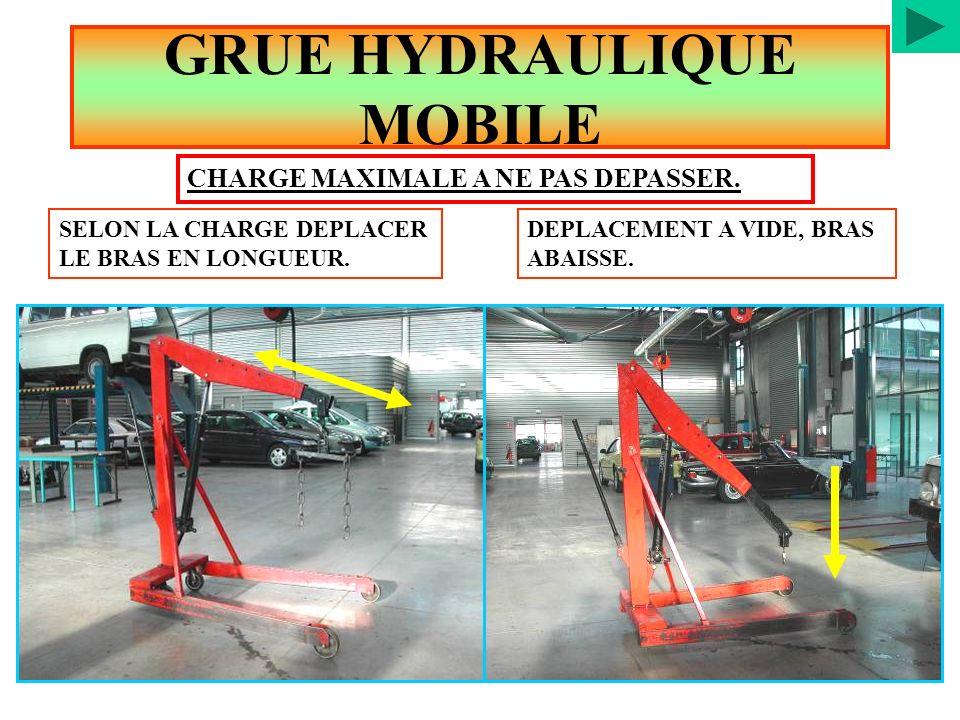 GRUE HYDRAULIQUE MOBILE
