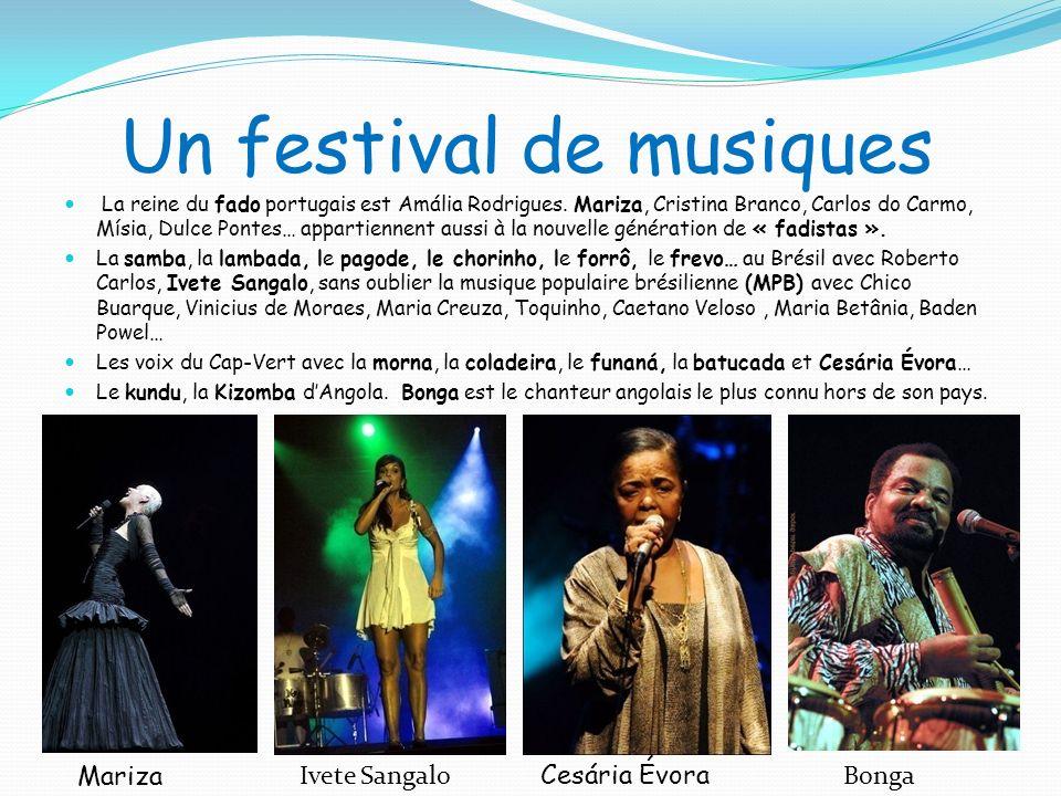 Un festival de musiques