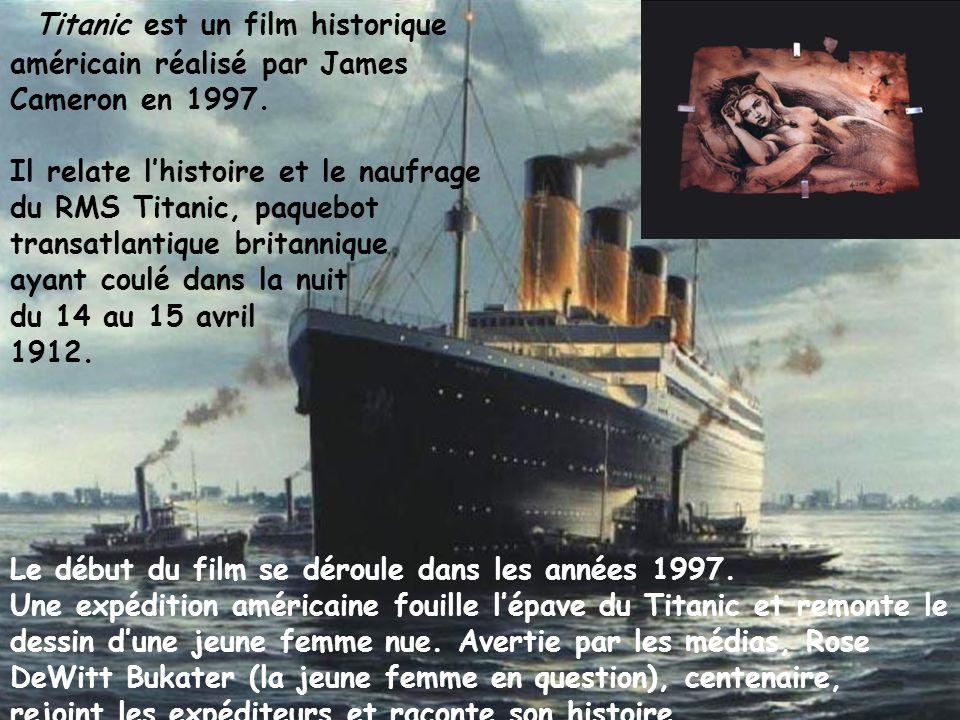 Titanic est un film historique