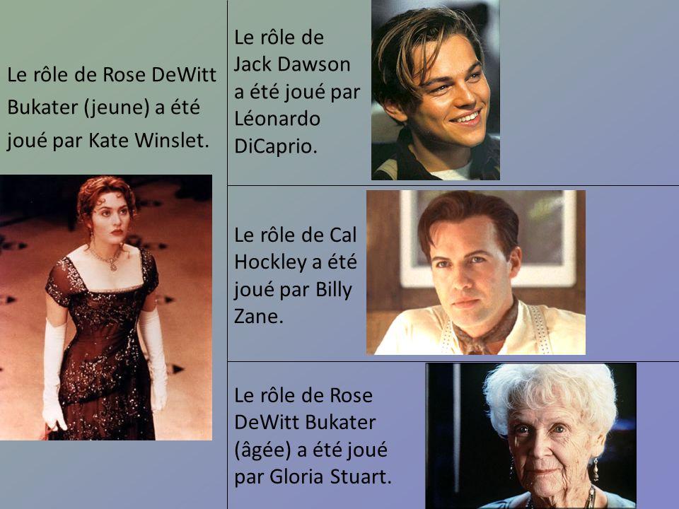 Le rôle de Jack Dawson a été joué par Léonardo DiCaprio.