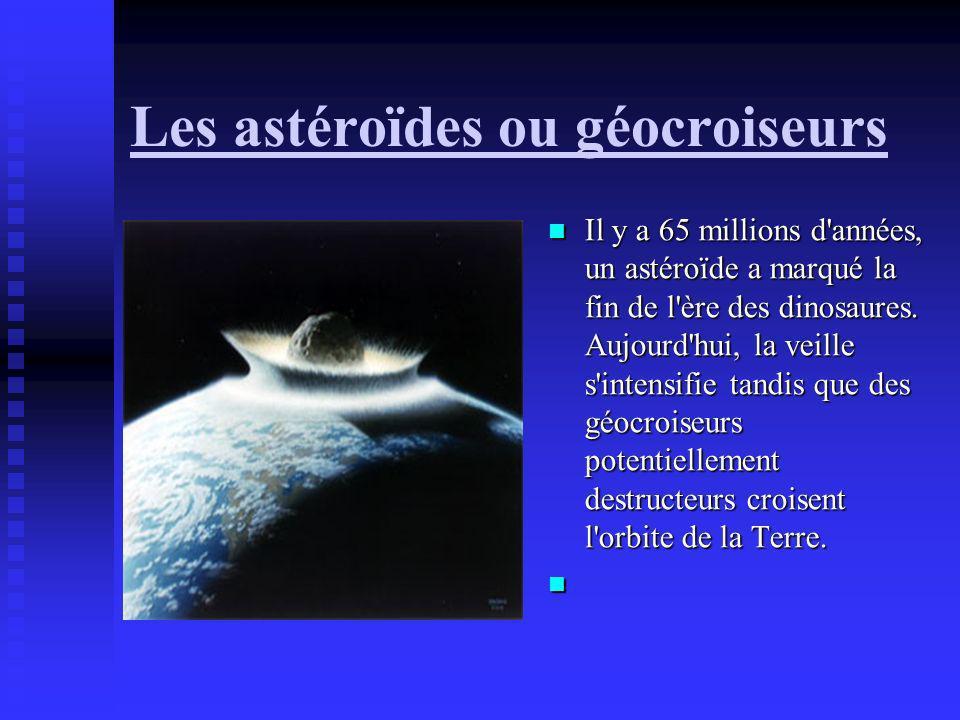 Les astéroïdes ou géocroiseurs