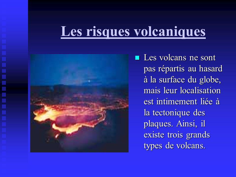 Les risques volcaniques