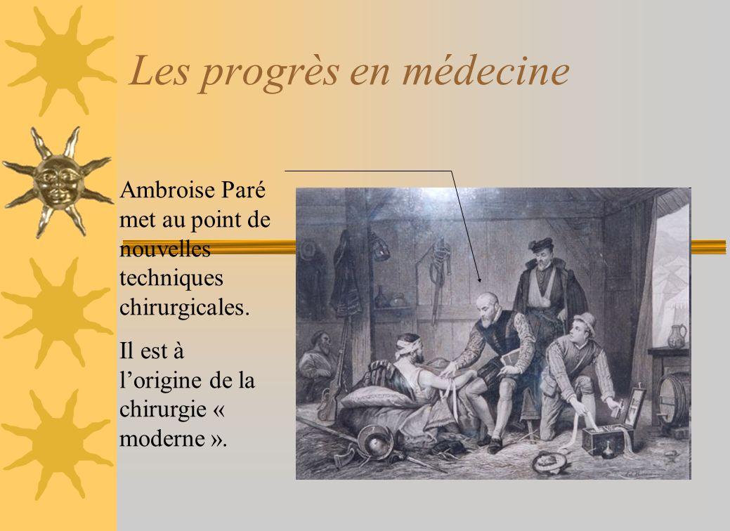 Les progrès en médecine
