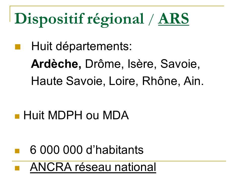 Dispositif régional / ARS