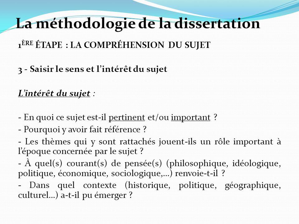 Dissertation sociologique