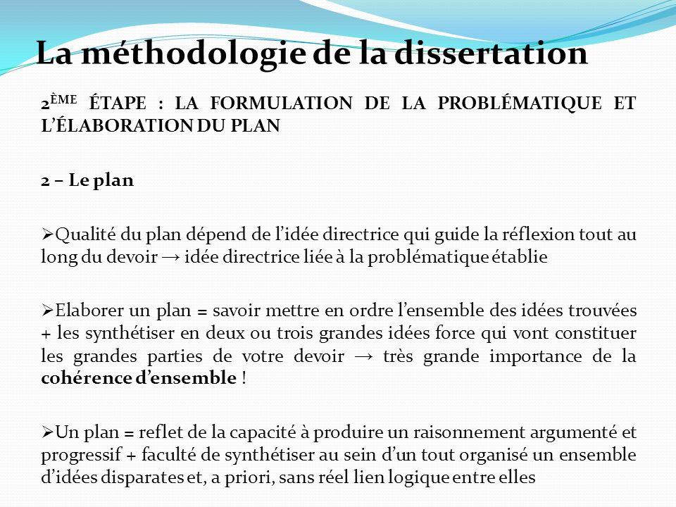 dissertation de francais plan Related post of dissertation plan dialectique exemple de compte.