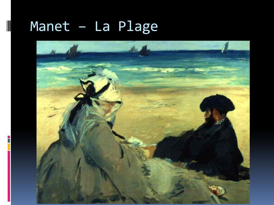 Manet – La Plage